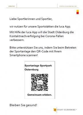 QR-Code für den Sportpark