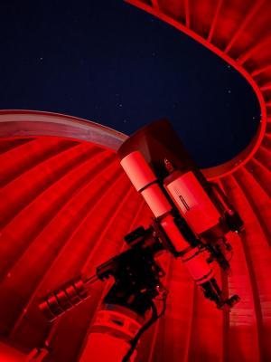 Hauptbeobachtungsinstrument, Foto: Michael Risch