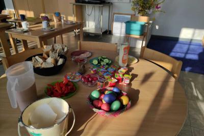 Osterfeier in Corona-Zeiten mit den Unterstufen