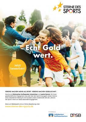 """Vorschaubild der Meldung: Startschuss für die """"Sterne des Sports"""" 2021"""