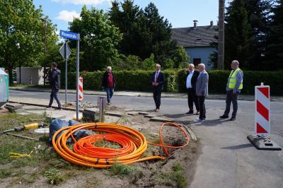 Foto zur Meldung: Glasfasernetz für Großräschen - Telekom & Deutsche Glasfaser