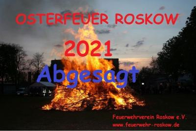 Absage Osterfeuer 2021