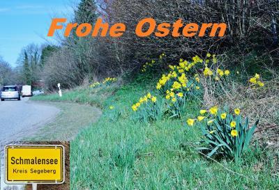 Foto zur Meldung: Für Schmalensee und dem Weltkreis: Frohe Ostern!