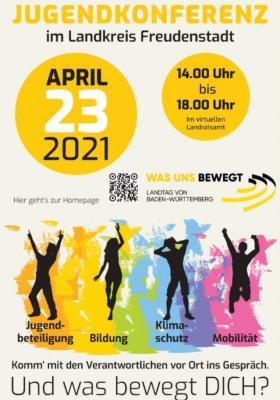 Foto zu Meldung: Digitale Jugendkonferenz