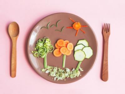 Neue Gerichte auf der Speisekarte der Kita Schmetterling