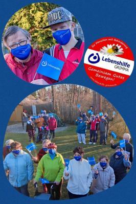 Foto zur Meldung: Masken der Lebenshilfe