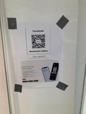 Gemeinsam gegen Cororona: LUCA-App jetzt auch im STC nutzbar