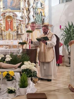 Osternacht in der Pfarreiengemeinschaft Moosbach-Prackenbach-Krailing am 03. und 04. April 2021 in den Kirchen