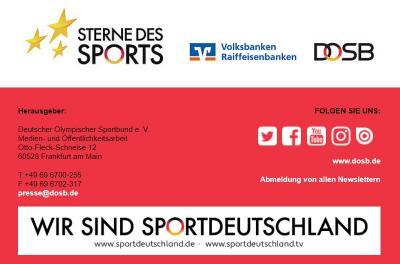 """Foto zur Meldung: """"Sterne des Sports"""" 2021 gesucht"""