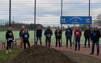 Bild der Meldung: Inter schreibt Geschichte: Erster Amateurverein mit TÜV-Nachhaltigkeitszertifikat