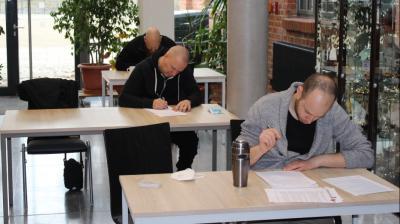 Foto zur Meldung: Abschlussprüfung und Zertifizierung Trainer C Ausbildung