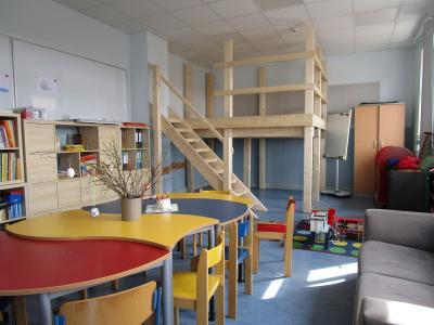 Foto vom Album: Spielturm im Raum der Schulsozialarbeit