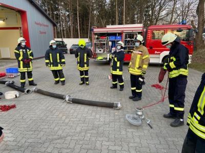 Truppmann Ausbildung ist in die Praxis gestartet 19.04.21