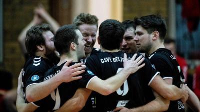 Der GSVE Delitzsch will nach dem letzten Saisonspiel noch einmal einen Grund zum jubeln haben. © Alexander Prautzsch
