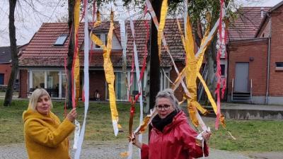 Foto zur Meldung: Groß Laasch - Ein Maibaum für Groß Laasch