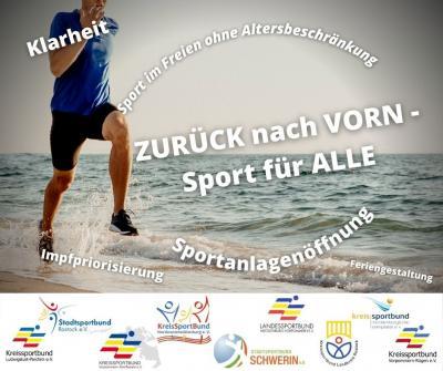 Zurück nach Vorn - wir fordern Sport für ALLE!
