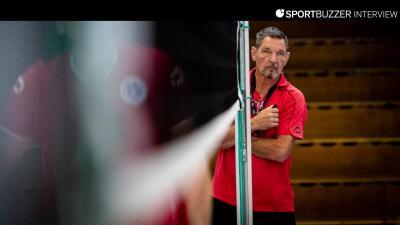 Nach 16 Jahren ist Schluss: GSVE-Delitzsch-Coach Frank Pietzonka hängt das Trainerdasein an den Nagel. © Alexander Prautzsch