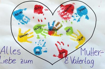 Foto zur Meldung: Videobotschaft zum Mutter- / Vatertag aus der KiTa Geraberg