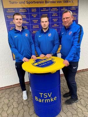 Foto zur Meldung: TSV Barmke plant weiter mit Trainertrio