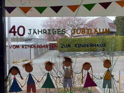 Unser Kinderhaus feiert 40. Geburtstag!