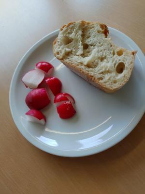 Hochbeet-Challenge - Die erste Ernte