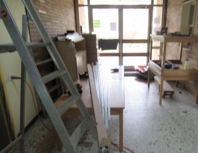 Umbau im Kindergarten