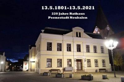 Foto zur Meldung: Rathaus feiert 220 Jahre