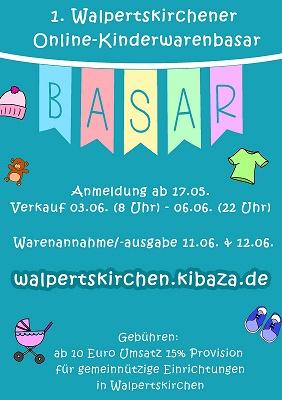 1. Walpertskirchner Online-Kinderwarenbasar