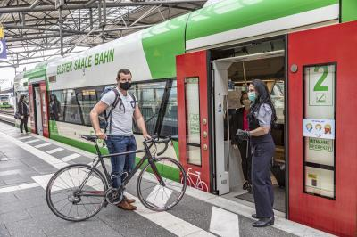 Mit Erfurter Bahn und Fahrrad durchs Ilmtal