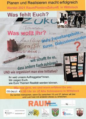 """""""Raum Pioniere Zukunft"""" im Jugendzentrum"""