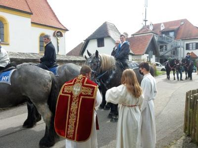 Foto zur Meldung: Pfingsten in der Pfarreiengemeinschaft Moosbach-Prackenbach-Krailing