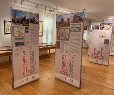 """Foto zur Meldung: Wanderausstellung """"Stadt hat Recht"""" im Stadt- und Regionalmuseum Perleberg"""