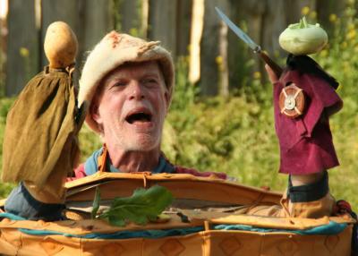 """Beim ersten Slawischen Märchenfestival darf man sich auch wieder auf den """"Kiepenkasper"""" freuen."""