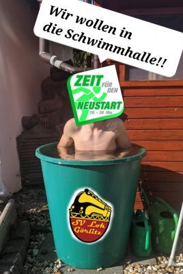 """Foto zur Meldung: Aktion """"Zeit für den Neustart!"""" mit tollen Aktionen unserer Sportler"""