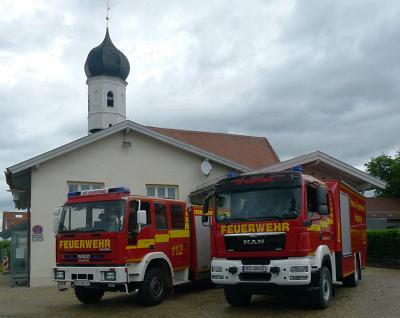 Foto zur Meldung: Feuerwehr Happing nimmt verantwortungsbewussten Übungs- und Ausbildungsbetrieb wieder auf