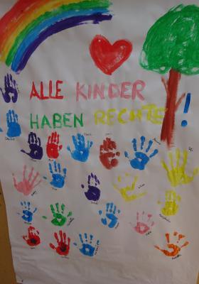 """Projekt """"Kinder haben Rechte!"""" zum Kindertag"""