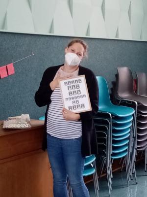 Foto zur Meldung: Abschied von Frau Klinger