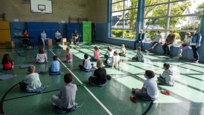 Foto zur Meldung: Theater-Vorführung in der Nordschule