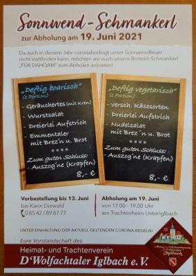 Sonnwend-Schmankerl - zur Abholung am 19. Juni 2021
