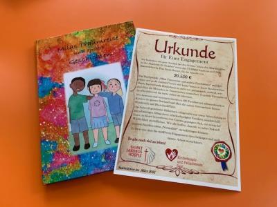 Projekt zugunsten des Kinderhospiz- und Palliativteams Saar am TGSBBZ Saarlouis