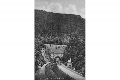 Foto zur Meldung: Chronik eines Baus meisterhafter Technik - 140 Jahre Brandleitetunnel im Thüringer Wald - Teil 1