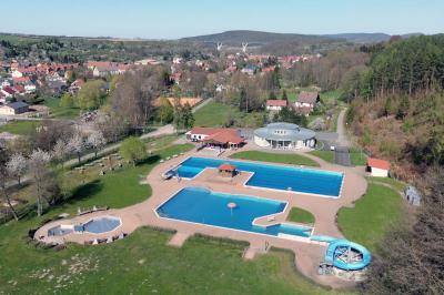 Foto zur Meldung: Saison-Eröffnung im Freibad Geraberg