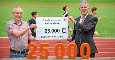 """Foto zur Meldung: Kräftiger Geldsegen für """"Kiel leuchtet"""""""