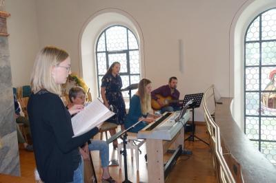 Jugendgottesdienst zur Firmvorbereitung der Pfarreien Moosbach und Prackenbach-Krailing am 11. Juni 2021 in St. Georg Prackenbach