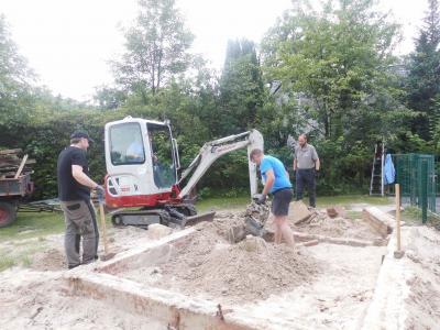 Foto vom Album: Arbeitseinsatz auf der Tummelwiese
