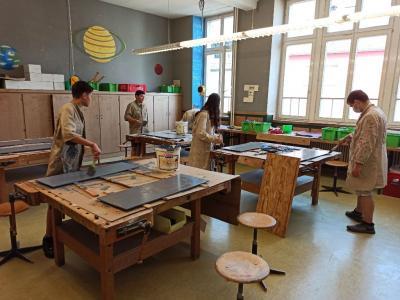 OS-B renoviert die Schulküche