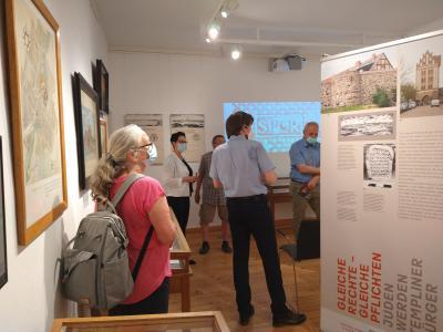 Foto zur Meldung: Ausstellungseröffnung im Stadt- und Regionalmuseum Perleberg