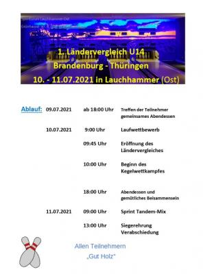 Luis Hofmann vom ESV Lok Falkenberg wurde für den Ländervergleich nominiert