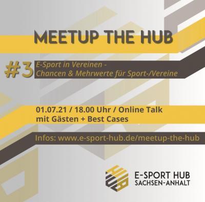 Foto zur Meldung: Einladung: E-Sport im Verein - Online Event am 01.07.2021
