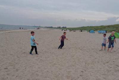 Piratenleben am Strand